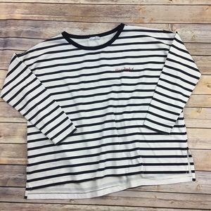 "Zara oversized ""Miss Perfect"" sweatshirt"